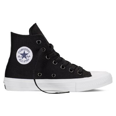 Converse Chuck Taylor All Star II High Sneaker Kinder Schuhe schwarz weiß