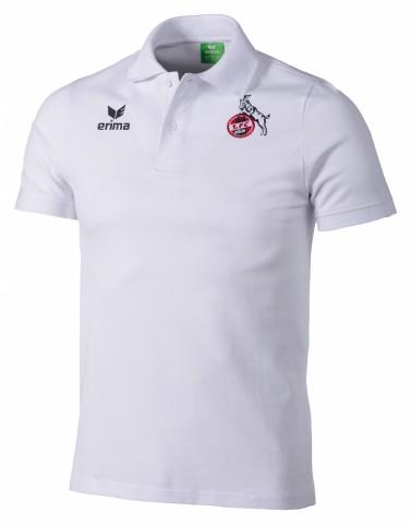 Erima 1. FC Köln Poloshirt Herren weiss