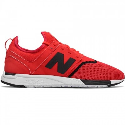 New Balance MRL 247 Sneaker Herren Schuhe rot schwarz