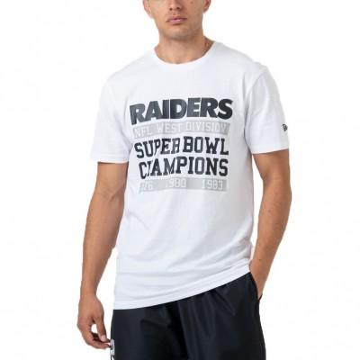 New Era NFL Oakland Raiders Super Bowl Tee