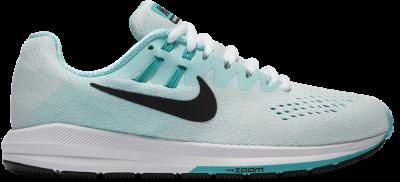 Nike Air Zoom Structure 20 Damen Laufschuhe Running weiß Jade