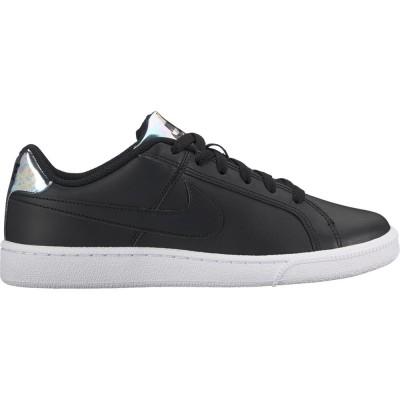 Nike Court Royale Sneaker Damen Schuhe schwarz silber