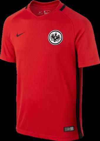 Nike Eintracht Frankfurt Away Trikot Kinder 2016/2017 rot