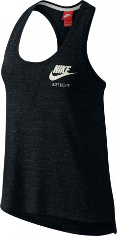 Nike Gym Vintage Tanktop Damen Training schwarz