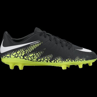 Nike Hypervenom Phelon II FG Herren Fußballschuhe Nocken schwarz/gelb