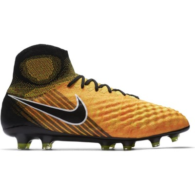 Nike Magista Obra II FG Herren Fußballschuhe Nocken orange schwarz