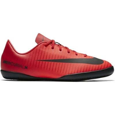Nike Mercurial Vapor XI IC Kinder Fußball Hallenschuhe rot