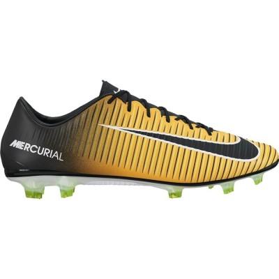 Nike Mercurial Veloce III FG Herren Fußballschuhe Nocken orange schwarz