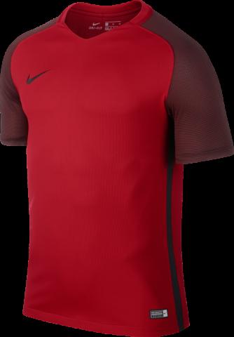 Nike Revolution IV Trikot kurzarm Fußball rot