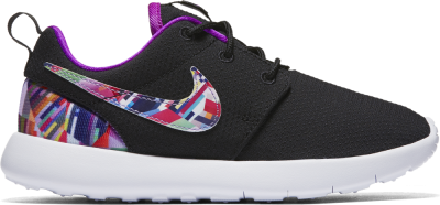 Nike Roshe One Print PS Sneaker Kinder Schuhe schwarz lila