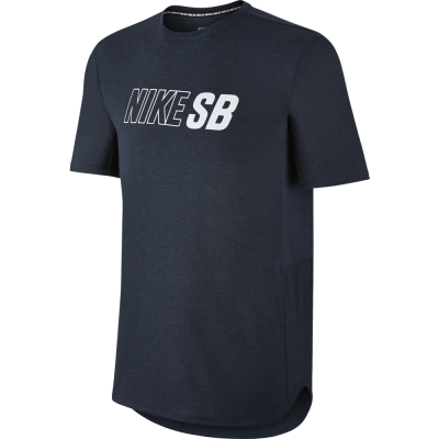 Nike SB Skyline Dri-FIT Cool Top Herren T-Shirt dunkelblau