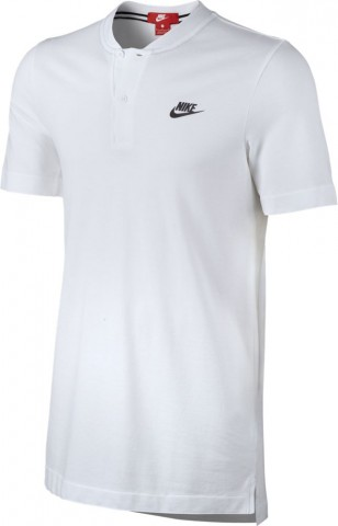 Nike Sportswear Modern Poloshirt Kurzarm-Oberteil weiß