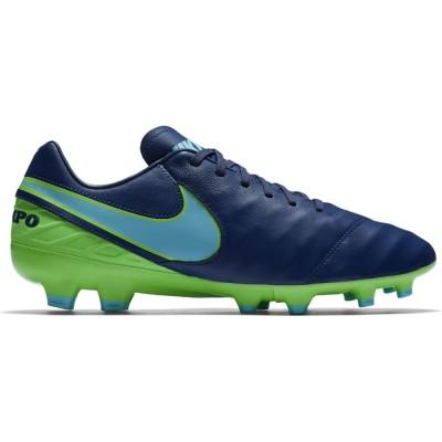Nike Tiempo Mystic V FG Fußballschuhe Herren Nocken blau/grün