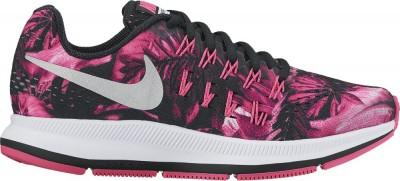 Nike Zoom Pegasus 33 Print GS Kinder Laufschuhe Running schwarz