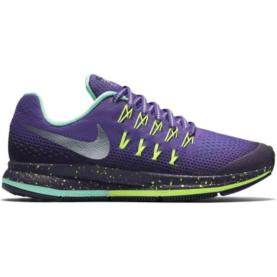 Nike Zoom Pegasus 33 Shield GS Kinder Laufschuhe Running lila