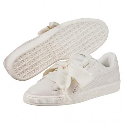 Puma Basket Heart NS Sneaker Damen Schuhe weiß
