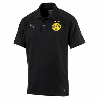 Puma Borussia Dortmund Casual Pololoshirt BVB schwarz