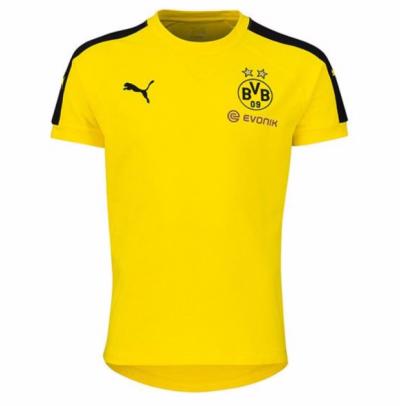 Puma BVB Borussia Dortmund Casuals Performance Tee Kinder T-Shirt gelb