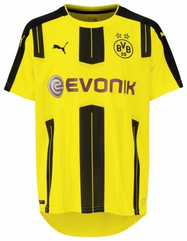 Puma BVB Borussia Dortmund Home Trikot Kinder 2016/2017 gelb