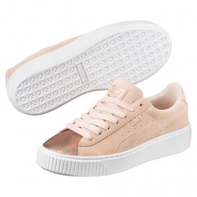 Puma Suede Platform LunaLux Sneaker