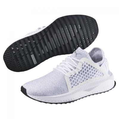 Puma Tsugi Netfit evoKnit Sneaker Herren Schuhe weiß