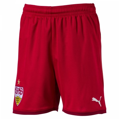 Puma VfB Stuttgart Kinder Short Away 2017/2018 rot