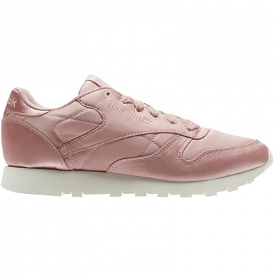 Reebok Classic Leather Satin Sneaker