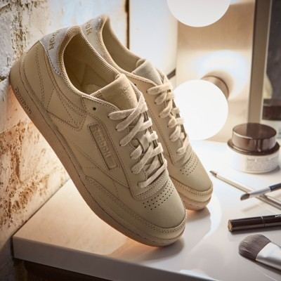 Reebok Club C 85 Diamond Pack Sneaker Damen Schuhe oatmeal