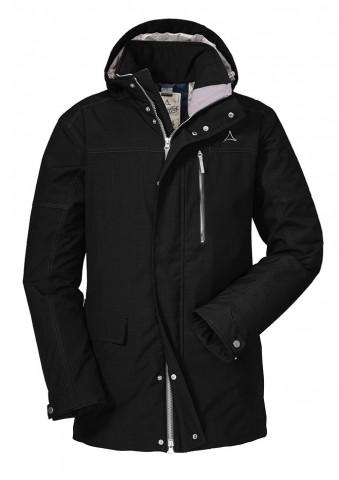 Schöffel Insulated Jacket Clipsham Herren Winterjacke schwarz