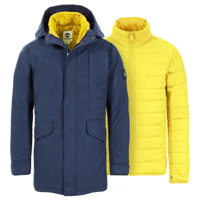 Timberland DV 3in1 Fishtail Parka
