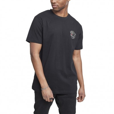 Urban Classics Embroidered Panther Tee