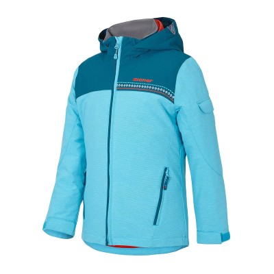 Ziener ANETE junior Kinder Ski Winterjacke blau