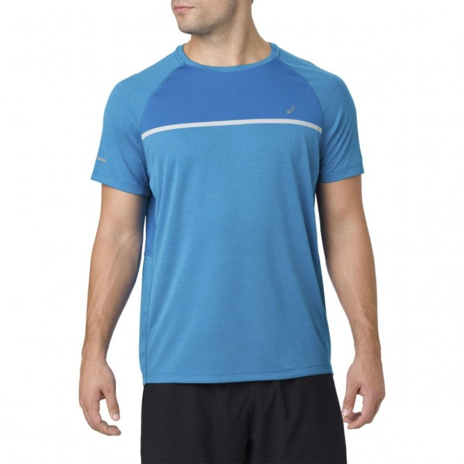 Asics Short Sleeve Running T Shirt | 2011A289 400 | Sport