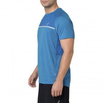 asics shorts sleeve run t-shirt herren