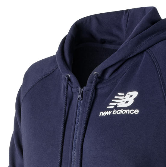 New Balance Essentials Full Zip Hoodie Damen