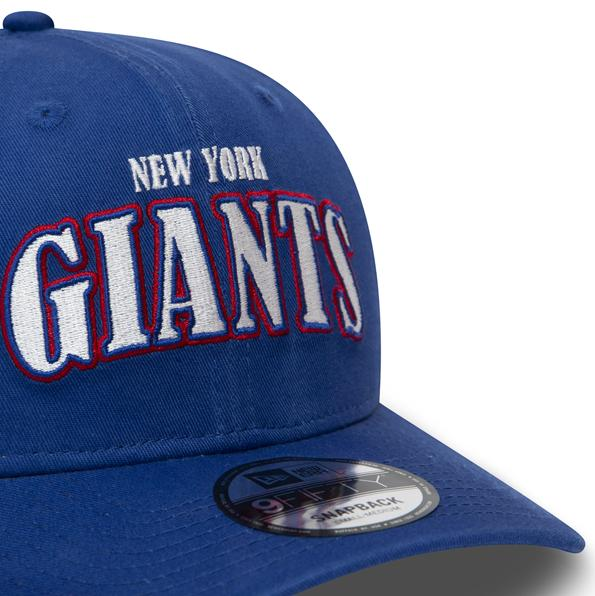 New Era NFL Pre Curved 9Fifty Giants