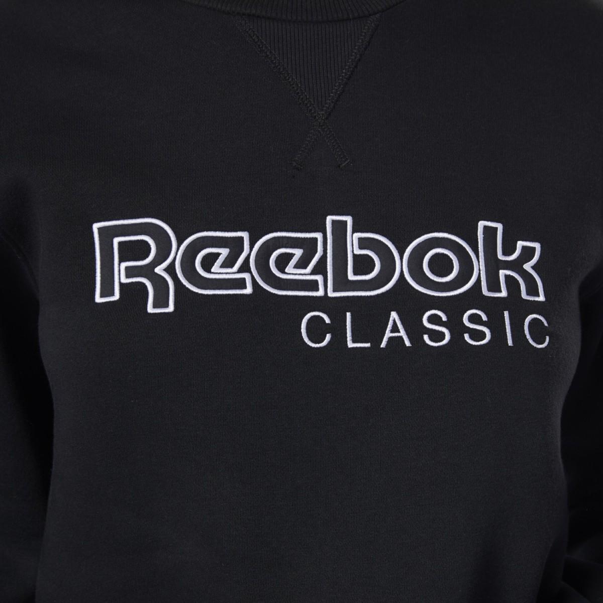 Reebok Classics Big Logo Fleece Crew Damen