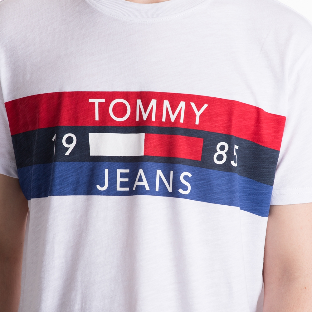 Tommy Jeans Essential Panel Logo Tee