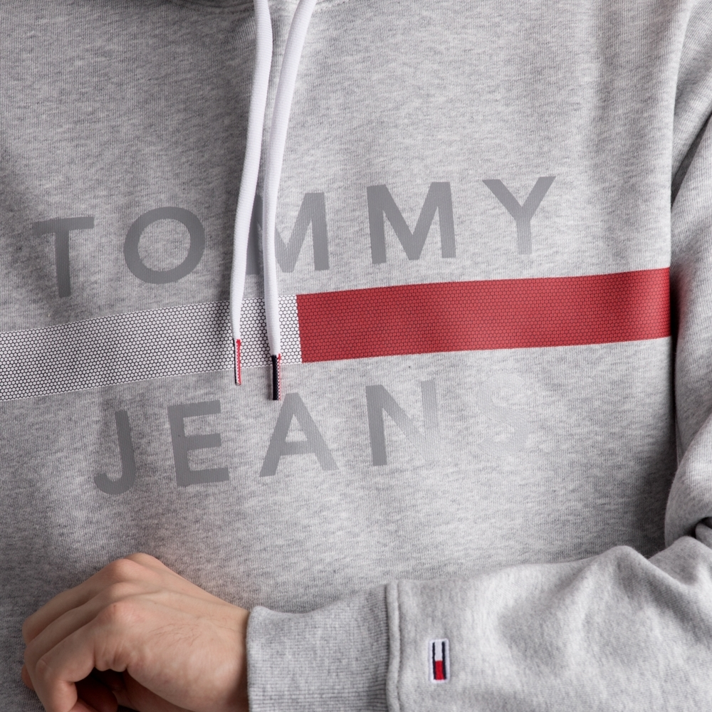 Tommy Jeans Reflective Flag Hoodie