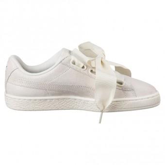 Puma Basket Heart NS Sneaker Damen Schuhe weiß | 364108 002