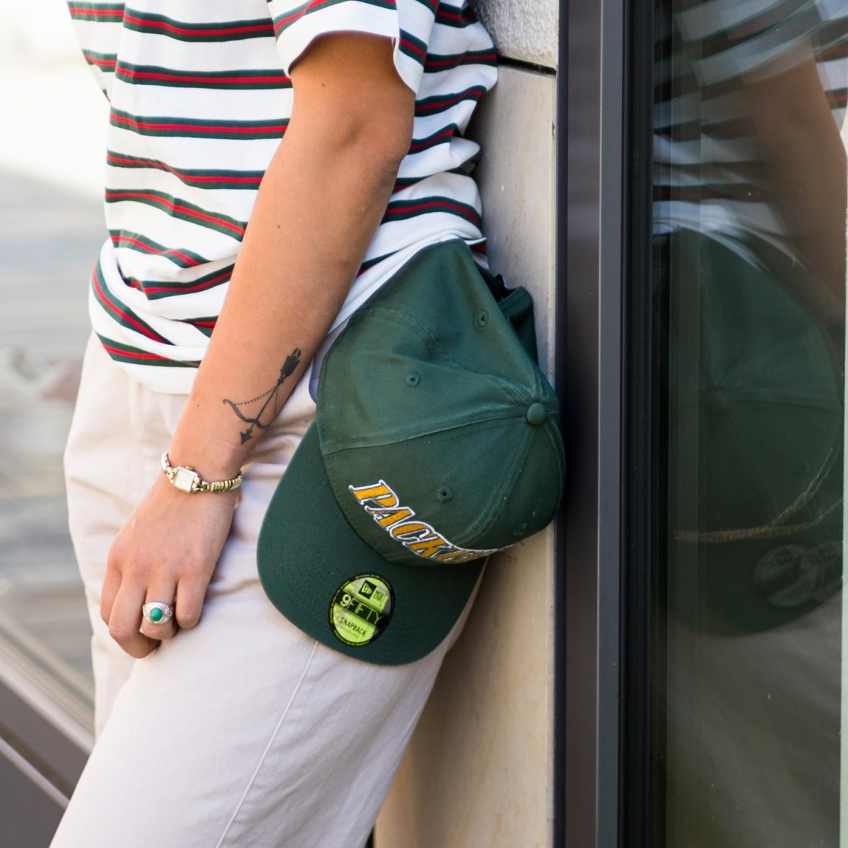 New Era NFL Pre Curved 9Fifty Packers