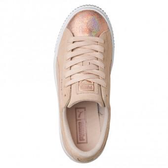 Puma Suede Platform LunaLux Sneaker   366111 002   Sport