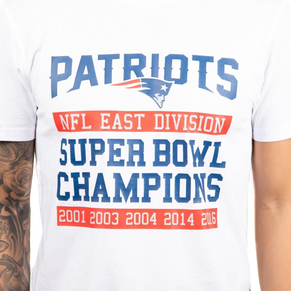 New Era NFL England Patriots Super Bowl Tee