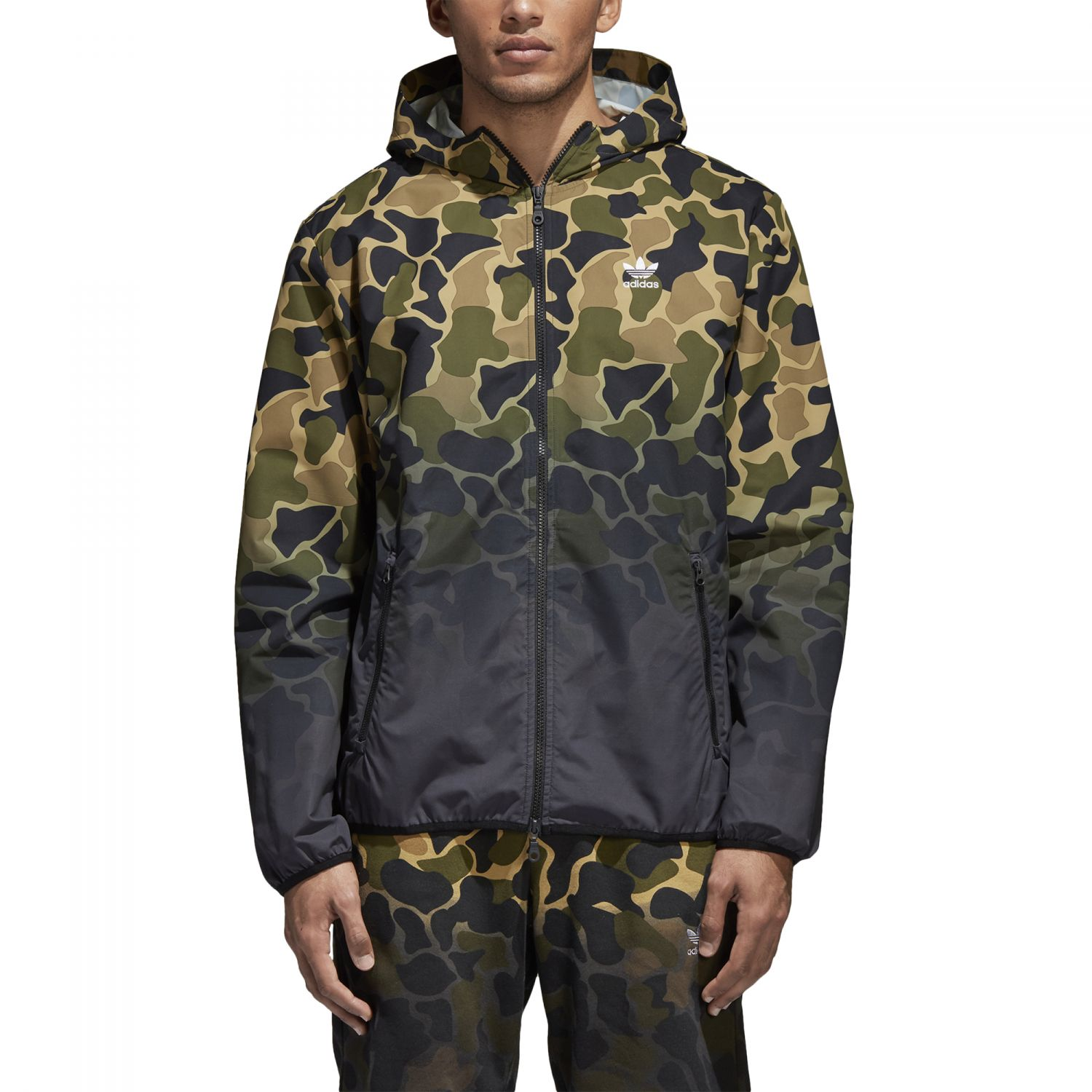 adidas originals camouflage windbreaker ce1545 sport klingenmaier. Black Bedroom Furniture Sets. Home Design Ideas