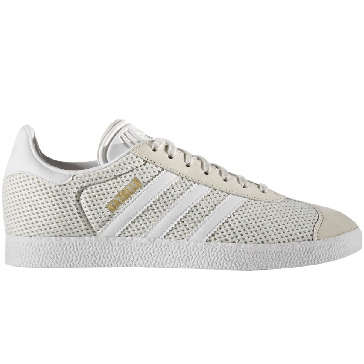 adidas originals gazelle sneaker damen schuhe beige wei. Black Bedroom Furniture Sets. Home Design Ideas
