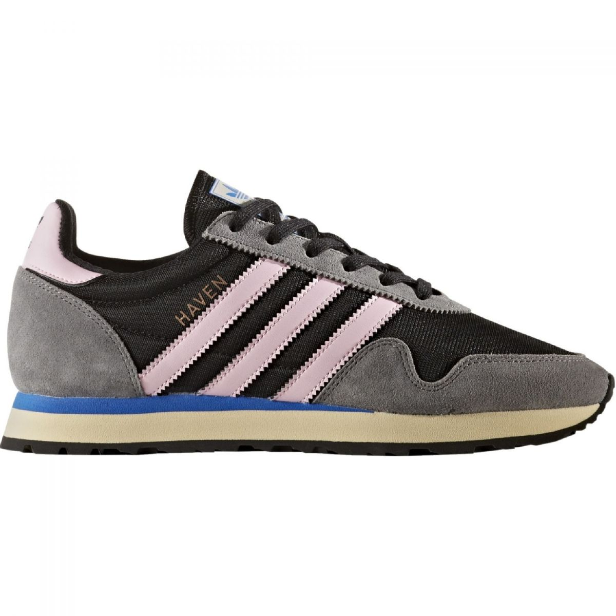 adidas originals haven sneaker damen schuhe schwarz pink. Black Bedroom Furniture Sets. Home Design Ideas