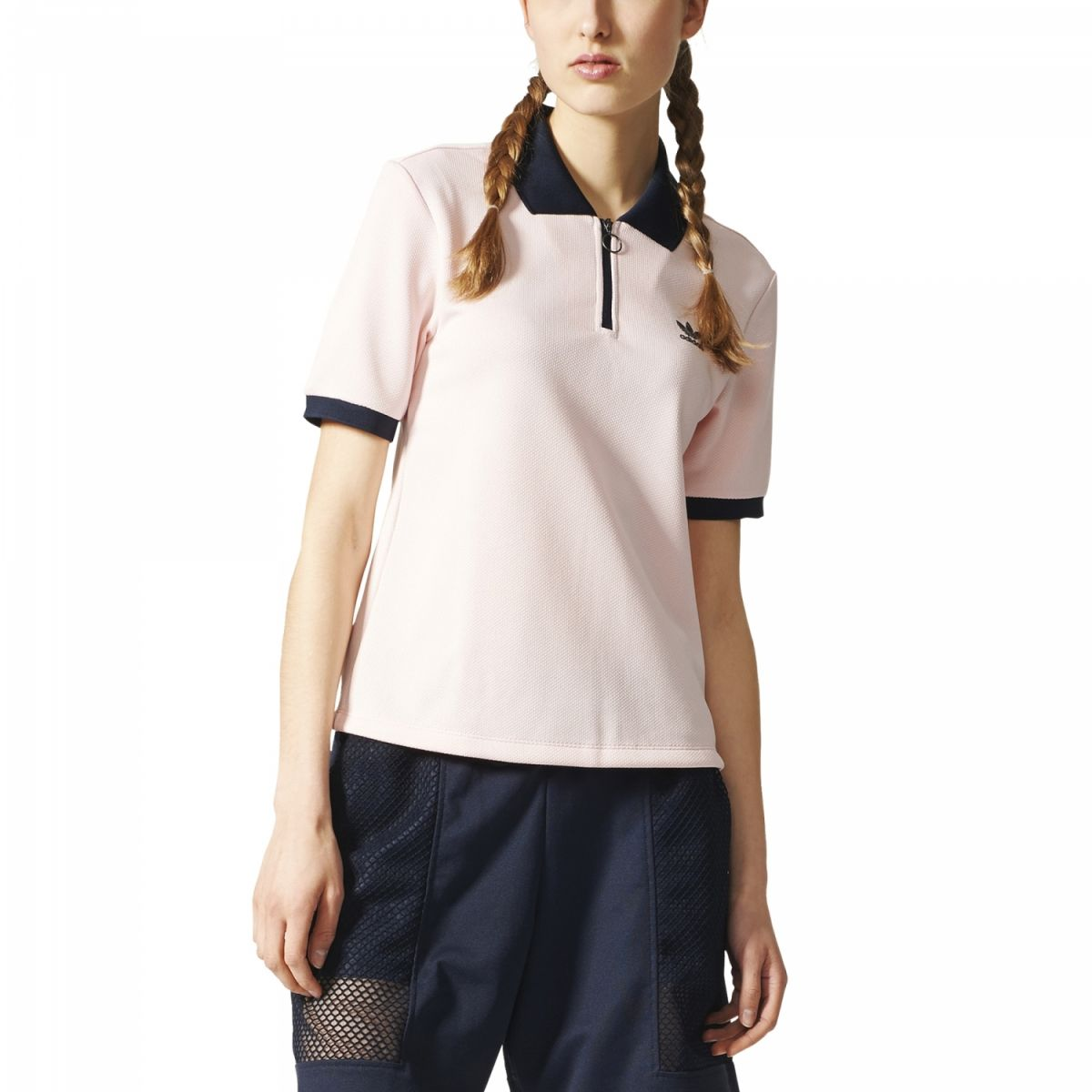adidas originals osaka polo shirt damen rosa bq5740 sport klingenmaier. Black Bedroom Furniture Sets. Home Design Ideas
