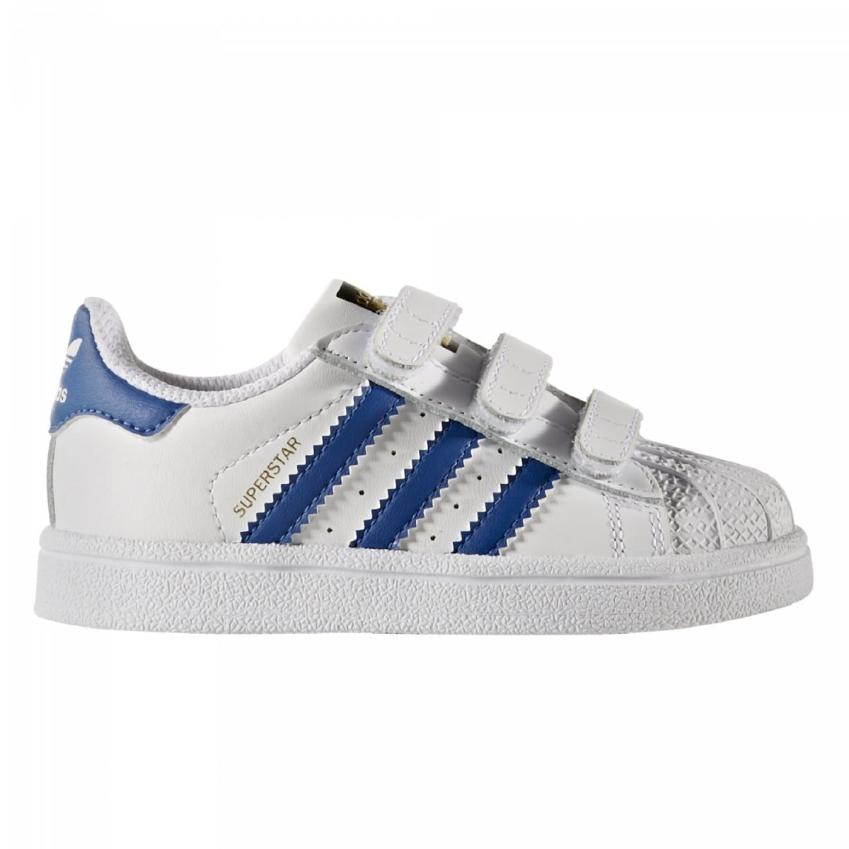 superstars adidas kinder blau