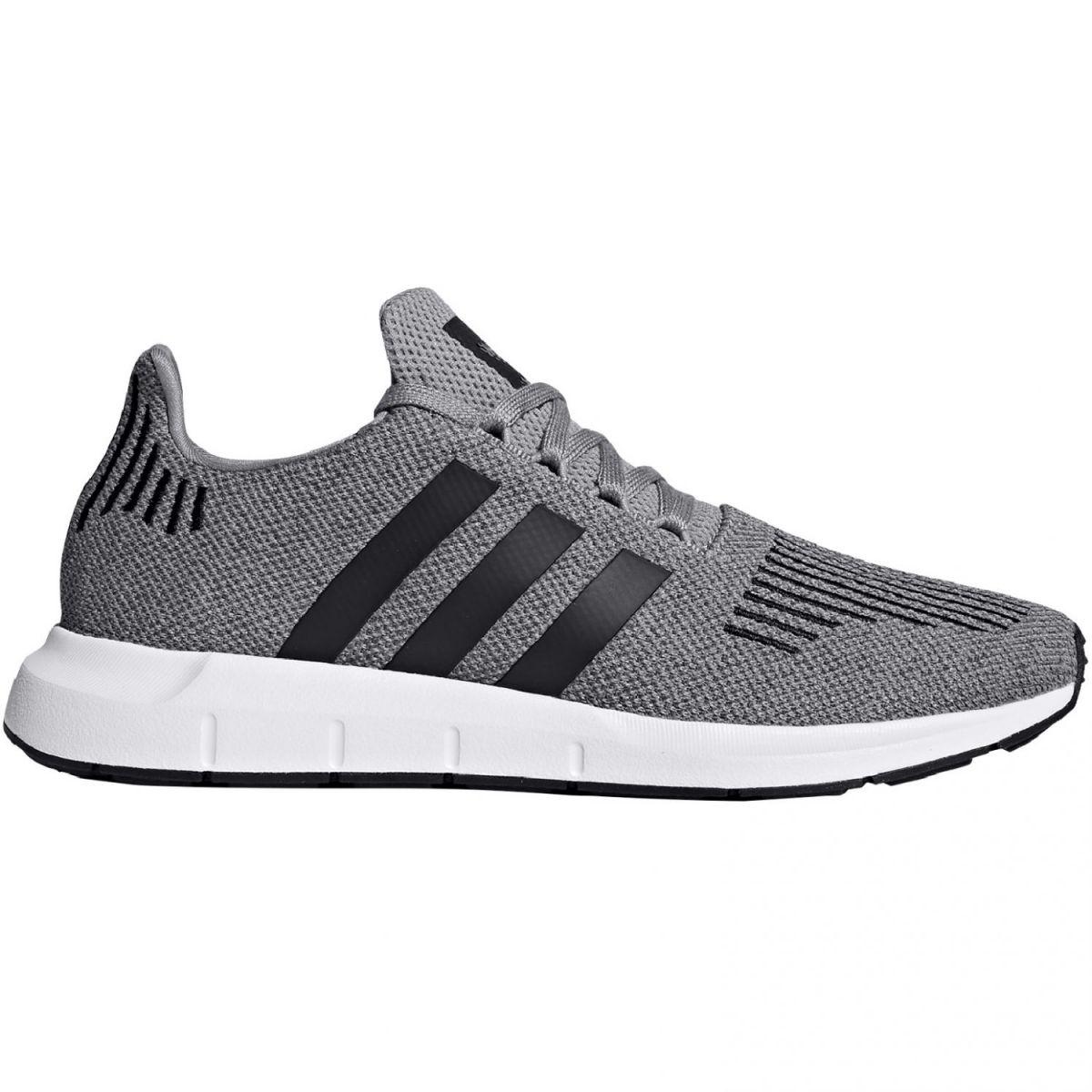 adidas originals swift run herren sneaker schwarz ortholite