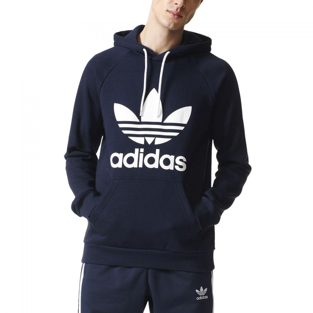 adidas originals trefoil hoodie br4849 sport klingenmaier. Black Bedroom Furniture Sets. Home Design Ideas